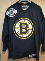 Boston Bruins CCM Hockey Jersey NHL Center Ice Youth L/XL