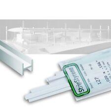 Evergreen H-Profil 4,0 x 3,7 mm Nr. 285, 3 Stück, Länge 355 mm, Polystyrol
