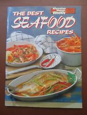 Cook Book Best SEAFOOD Recipes Cookery Fish Shellfish Australian Womens Weekly