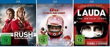 3 Blu-rays * NIKI LAUDA - RUSH/ONE-LEBEN OHNE LIMIT/LAUDA THE UNTOLD # NEU OVP §