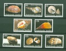 Ndl. Antillen Dutch Antilles 2008 - Schnecken Muscheln - Sea Snails Nr. 1657-64