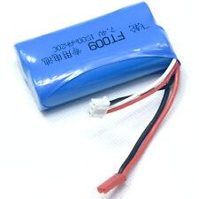 7.4V 2S 1500mAh 20C Li-Ion Battery JST plug Burst 40C RC model Vehicle power