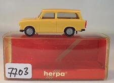 Herpa 1/87 Nr. 3088 Trabant 601 S Universal Kombi ocker Trabbi OVP #7703