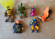 He-Man and MOTU - Toys -Lot Set of 7 - 1983 - Masters Of The Universe