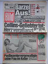 Bild Zeitung 20.10.1984, Brigitte Berx, Bud Spencer & Terence Hill, Alain Delon