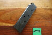 Colt 1911 1911A1 Magazine WWII Issue Made by Colt Good Shape Capacity 7