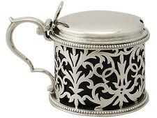 Sterling Silver Mustard Pot by Edward & John Barnard - Antique Victorian