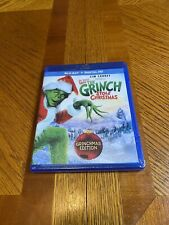 Dr. Seuss' How The Grinch Stole Christmas Jim Carrey Grinchmas Edition Blu-ray