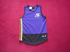 Adidas Los Angeles Lakers Basketball Shirt Top vest NBA small boys 46a02c855