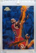 MJ Error: 1995 95-96 SkyBox MIchael Jordan #15, Error 6972 Career Blocks!