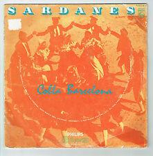 33T 25cm SARDANES Disque COBLA BARCELONA Musique du Monde PHILIPS 76113 RARE