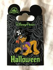 Disney Parks Pirate Pluto Halloween Pin New On Card