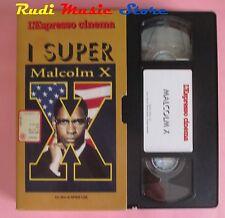 film VHS cartonata MALCOLM X Denzel Washington ESPRESSO 1993  (F71) no dvd