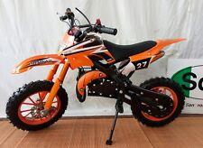 Minimoto Cross SKM EVO UD pit bike 2t orange mono regolabile regolatore velocità