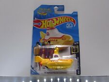 The Beatles Yellow Submarine Hot Wheels 1:64 Scale Diecast Vehicle *UNOPENED*