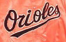 Baltimore Orioles Starter Orange Cooperstown Satin Jacket - Size M -NWT