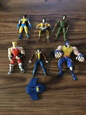 Lot of Marvel Super Hero Action Figures, X-Men, Avengers, Fantastic 4, Wolverine