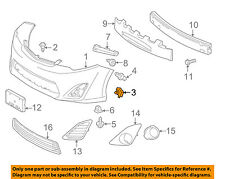 TOYOTA OEM Front Bumper-Cover Retainer Clip or Bracket 5387930040