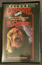 THE SLAYER 80s Horror Thriller PALACE EXPLOSIVE VIDEO Beta J.S. Cardone