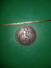 More details for ultra rare coin! 1902 one penny uk