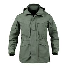 Army Mens Military M65 Combat Field Jacket Tactical Waterproof Coat Hooded Parka
