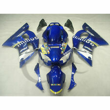 Blue ABS Fairing Body Work Kit Fit For Yamaha YZF R6 YZF-R6 1998-2002 01 00 99
