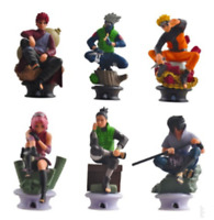 6PCS/Set Anime Naruto Kakashi Gaara PVC Action Figure Collectible Toy gifts 10CM