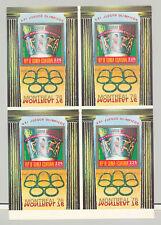 Equatorial Guinea 1976 Olympics 1v S/S Collective Sheet of 4 x 9v P/P
