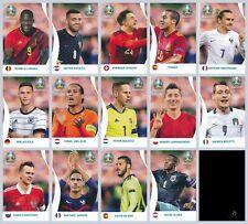 Panini EURO 2020 Pearl Edition Coca Cola Sticker Set C1-C14 (Panini Rückseite)