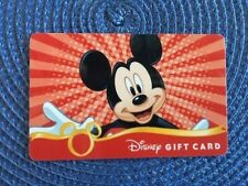 Mickey Mouse Disney gift card collectible only-  no $ value or points on it