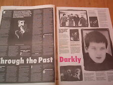 JOY DIVISION Revisited 2 page ARTICLE / clipping 1988