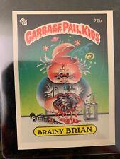 1985 Topps Garbage Pail Kids #72B BRAINY BRIAN (GLOSSY)............NM-MT