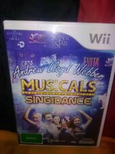 Andrew LLoyd Webber Musicals Sing and Dance - Wii Edition PAL - Includes Manual