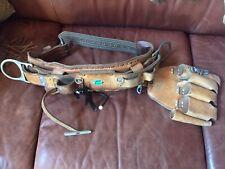 Bashlin 88 Lineman Belt Size D18 Astm F887 Leather
