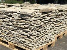 18m2 NATURSTEIN Bruchsteinplatten POLYGONALPLATTEN  Sandstein Platten 1PL