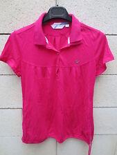 T-shirt / tunique ADIDAS Trefoil style vintage rose framboise 40