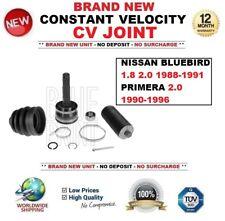 pour Nissan bleu 1.8 2.0 1988-1991 + PRIMERA 2.0 1990-1996 Kit Joint cardan