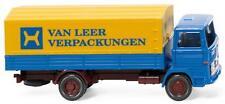 Wiking 043701 H0 LKW Mercedes 1317 Pritschen-Lkw Van Leer Verpackungen