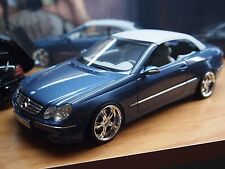 MERCEDES CLK 500 cabriolet 1:18 Kyosho avec Tuning Conversion