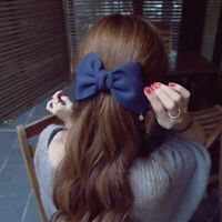 à cheveux des accessoires pour cheveux tissu de solides gros noeud barrettes