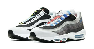 """MENS NIKE AIR MAX 95 GREEDY 2.0 """"WHAT THE"""" MULTI COLOR WHITE Men's Size 12 NEW"""