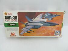 MES-44883Hasegawa JS-130 1:72 MIG-25 Foxbat Bausatz geöffnet,