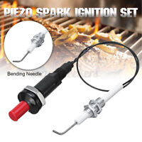 Universal Piezo Spark Ignition w/ Cable Push Button Igniter For Gas Grill BB