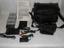 WORKING USED CANON ES900 8MM WITH ALOT OF EXTRAS, INCLUDING REMOTE AND TAPES!!!!