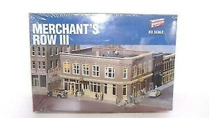 Walthers 933-3064 HO Merchant's Row III Building Kit