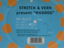 "STRETCH & VERN present 'MADDOG' - Like it - 1996 UK 3-track 12"" vinyl single"