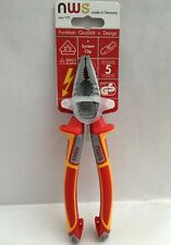 NWS VDE Combination Pliers 1000V Insulated N109-49-VDE-205C 205mm Brand New