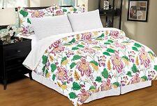 Hawaii Bed In A Bag, Comforter, Sheet Set, Bed Skirt, Shams, Pillow Cases