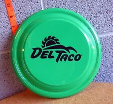 DEL TACO toy flying disc Mexican restaurant Frisbee fast-food Sun logo Garyline