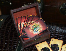 Triumphus in chest.Card Game of the Wizarding World.Harry Potter.Wicca.Witch